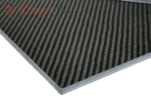 "0/90 Degree Carbon Fiber Twill/Uni Sheet ~ 1/4"" x 24"" x 36"""