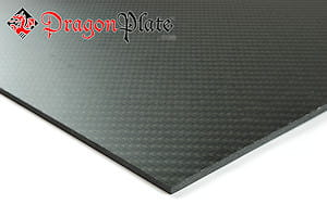 "0/90 Degree Carbon Fiber Twill/Uni Sheet ~ 1/8"" x 24"" x 36"""
