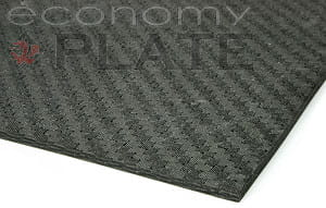 "EconomyPlate™ Solid Carbon Fiber Sheet ~ 5/32"" x 24"" x 24"""